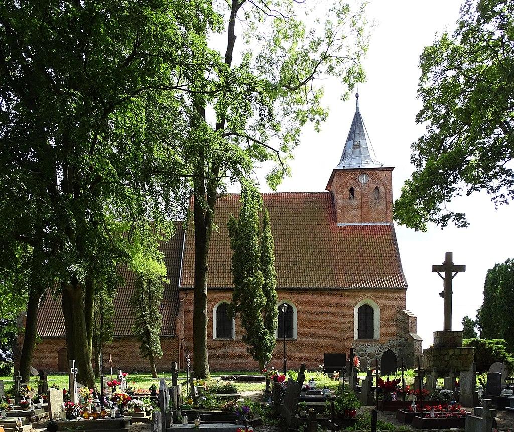Church of the Holy Trinity, Lubiszewo-Tczewskie